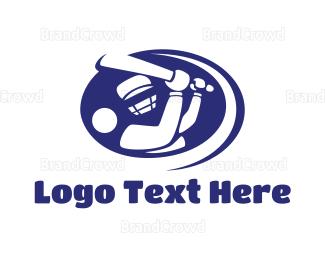 Federation - Baseball Batter logo design