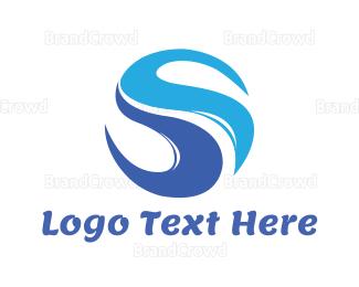 Pure - Blue River logo design