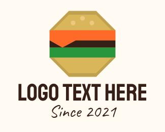 Octagon - Octagon Cheeseburger logo design