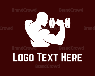 """Man & Weights"" by eightyLOGOS"