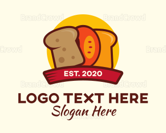 Bread - Bread Slices logo design
