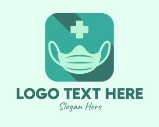 Surgeon - Face Mask Medical App logo design