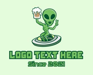 """""""Martian Alien Beer """" by town"""