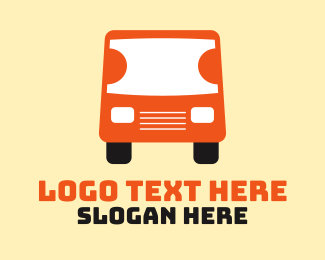 Tour Bus - Travel Ticket Bus Transport logo design