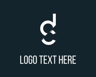 Sign - D & C Letters logo design