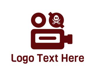 Recording - Pirate Film logo design