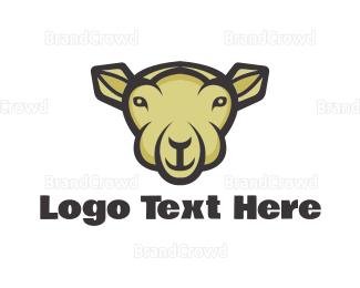 Sheep - Sheep Cartoon  logo design
