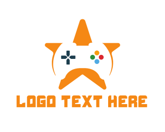 Gaming - Game Star logo design