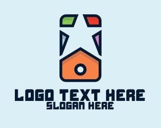 Mobile Phone - Star Mobile Phone logo design