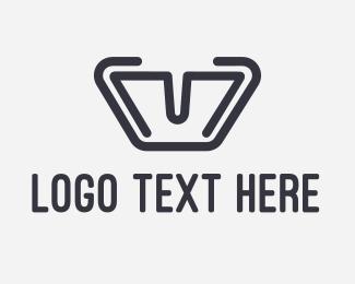 Lettering - Mega Letter M logo design