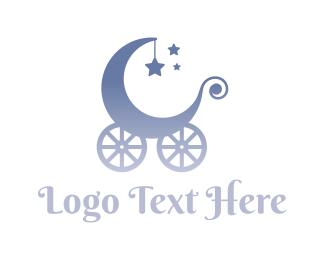 Dreamcatcher - Baby Carriage logo design