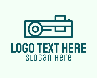 Electronics Store - Simple Media Projector  logo design