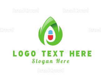 Pharmaceutic - Eco Capsule logo design