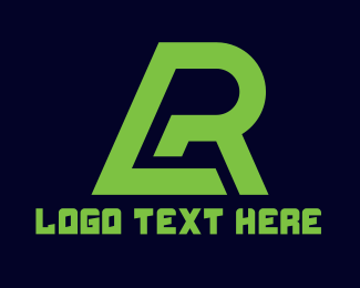 Race - Green Race logo design