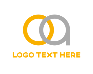Jewel - O & A logo design