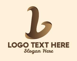 Chocolate - Chocolate Letter L  logo design