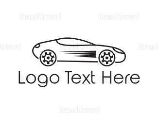 Batman - Black Car logo design