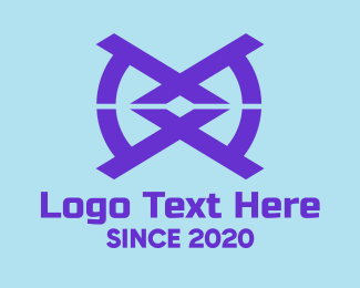 Reflect - Blue Tech Symbol logo design