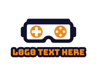 Vr - VR Gaming logo design