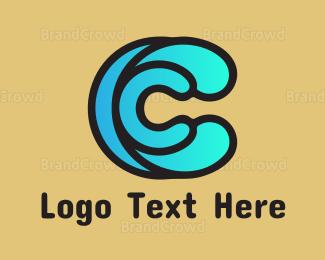Beachwear - Water Spash C logo design