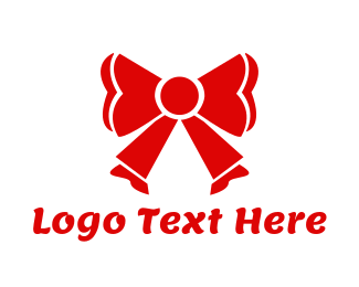 Present - Red Ribbon logo design