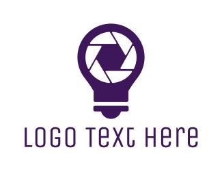 Illumination - Idea Photography logo design