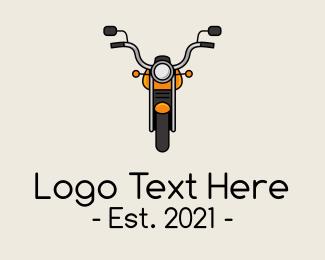 Orange - Orange Motorbike logo design