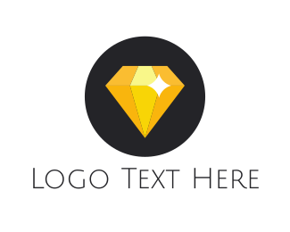 Glory - Shiny Yellow Diamond logo design