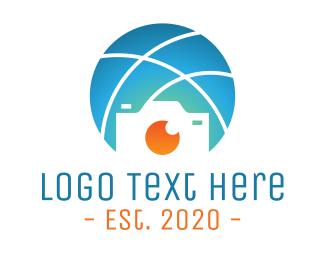Photograph - Global Sports Photographer logo design