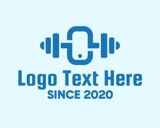 Exercise - Blue Online Fitness Training logo design