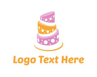 Cake Shop - Sweet Cake logo design