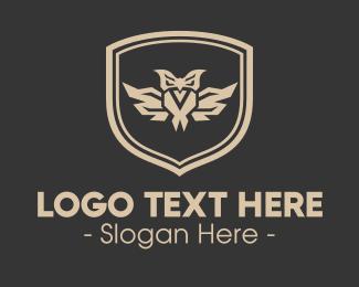 Sigil - Owl Emblem logo design