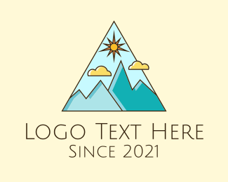 Travel - Outdoor Mountaineering Travel logo design
