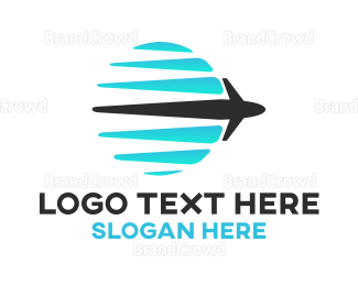 Airline - Abstract Global Airline logo design