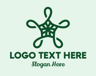 Sea - Turtle Star logo design