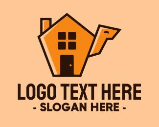 Home Depot - Camel House logo design