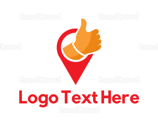 Approval - Thumbs Up logo design
