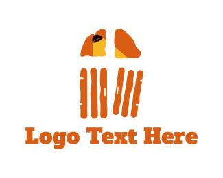 Lamp - Door & Lamp logo design