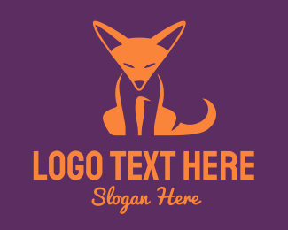 Orange Fox Cub Logo