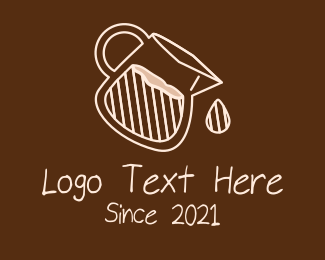 Homemade Coffee - Brown Coffee Shop logo design
