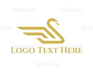Fortune - Royal Swan logo design
