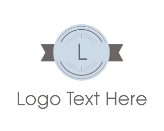 """Retro Stamp Lettermark"" by BrandCrowd"