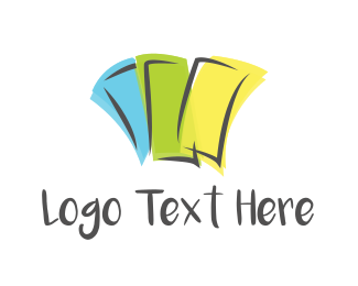 Ticket - Colorful Coupons logo design
