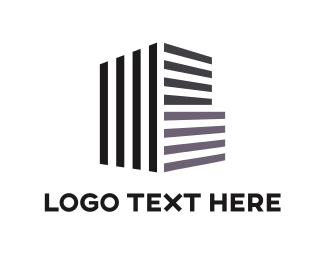Infrastructure - Building Architecture logo design