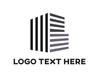 Condo - Building Architecture logo design