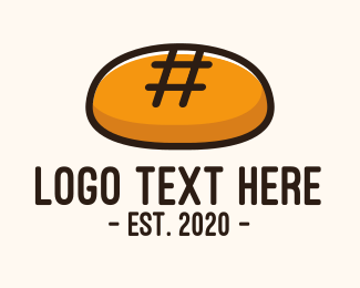 Bakery - Hashtag Bakery Bread logo design