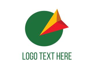 Point - MILE maps logo design