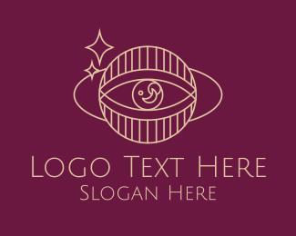 Fortune Teller - Astrology Psychic Eye logo design