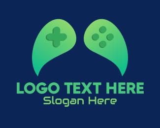 Game App - Green Leaf Gaming  logo design