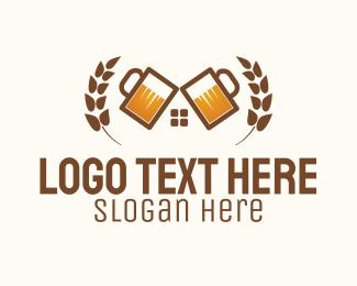 Draft Beer - Beer Tavern Beerhaus logo design